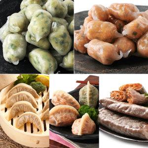 2봉/HACCP옹심이만두1kgx2봉/만두 간식/포자만두
