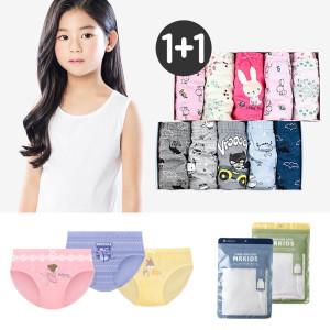 아동팬티 5매4900원 유아 런닝 순면 속옷 키즈 어린이