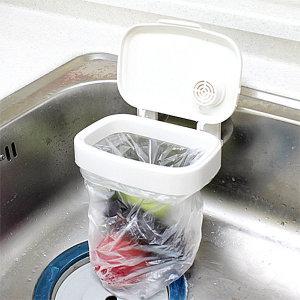 흡착 음식물쓰레기통/봉투걸이식/휴지통 분리수거함