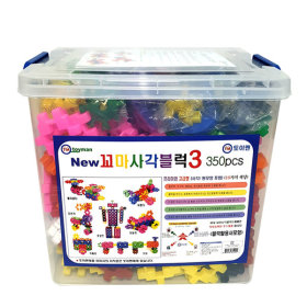 Toyman儿童积木玩具350粒