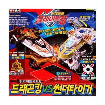 G마켓 - (탑블레이드) 전격배틀세트S 드래곤킹 vs 썬더타이거